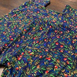 LuLaRoe Pants - Lularoe Floral Pants OS